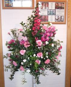 A flower arrangement